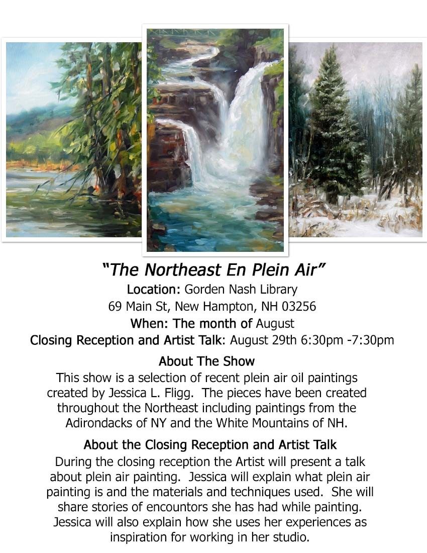 The Northeast En Plein Air show